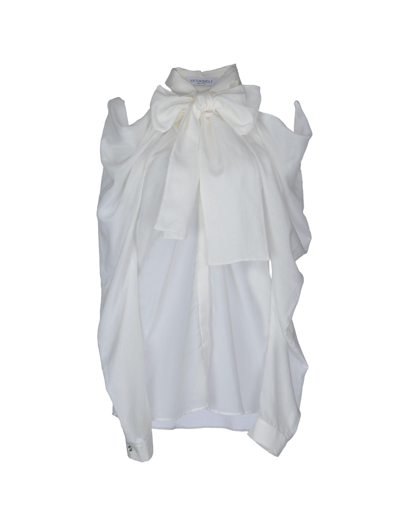 VIKTOR & ROLF Рубашка с длинными рукавами цена 2017
