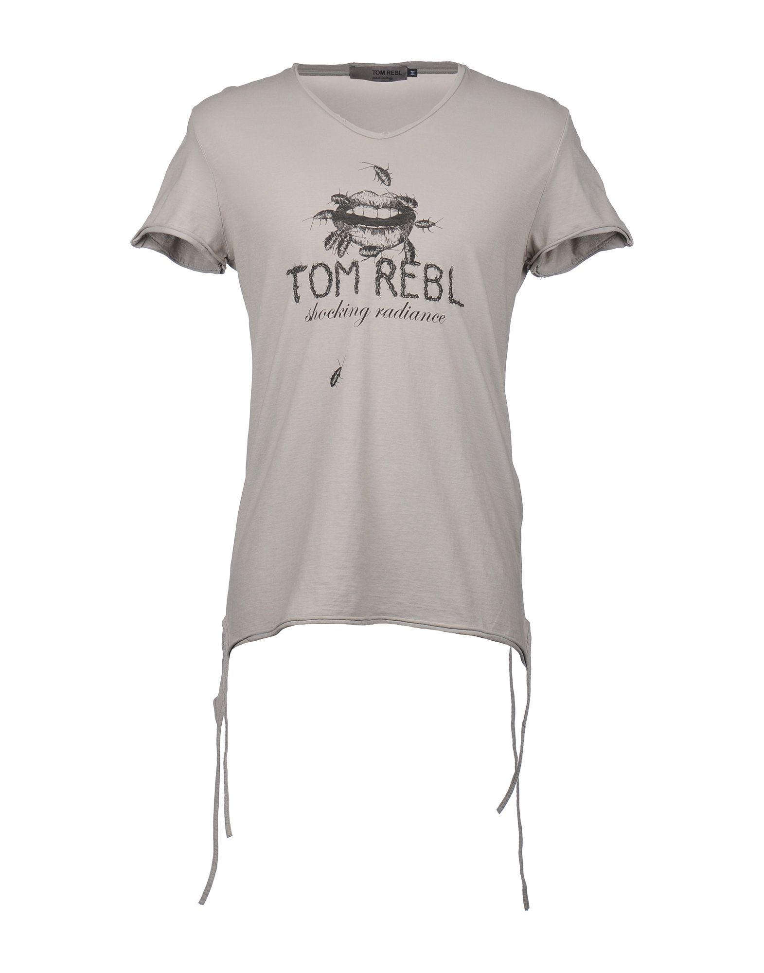 TOM REBL Футболка с короткими рукавами цена 2017