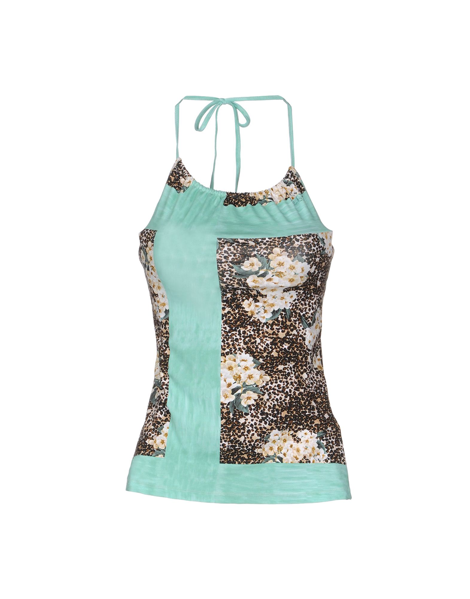 BLUGIRL BLUMARINE BEACHWEAR Топ без рукавов blugirl blumarine beachwear слитный купальник