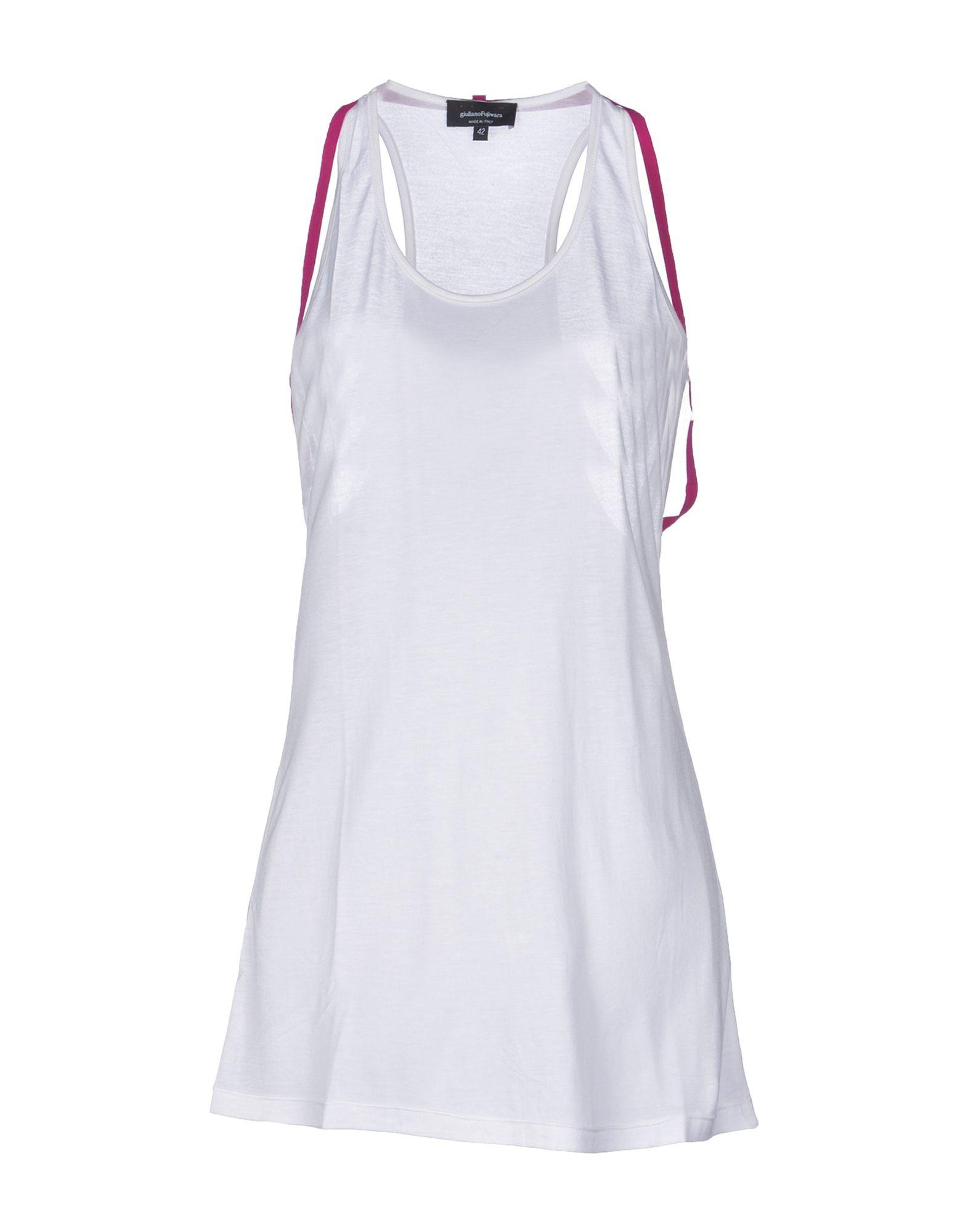 GIULIANO FUJIWARA Топ без рукавов giuliano fujiwara короткое платье