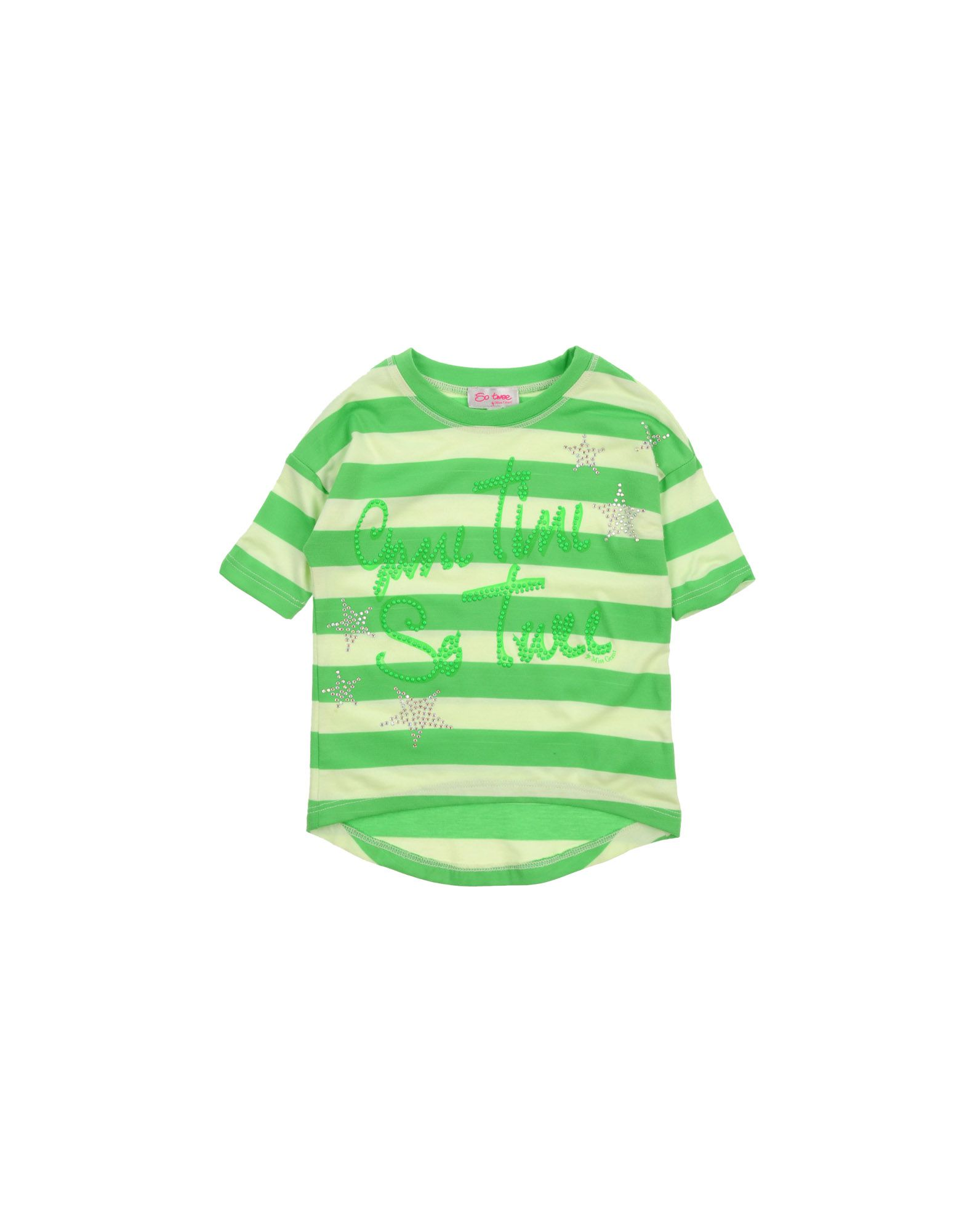 So Twee By Miss Grant Kids' T-shirts In Green
