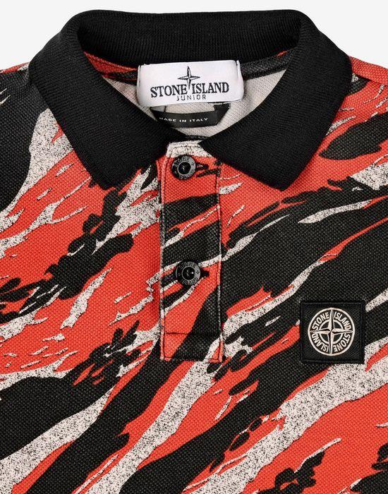 947693d6 21360 TIGER STRIPE CAMO Polo Shirt Stone Island Men - Official ...
