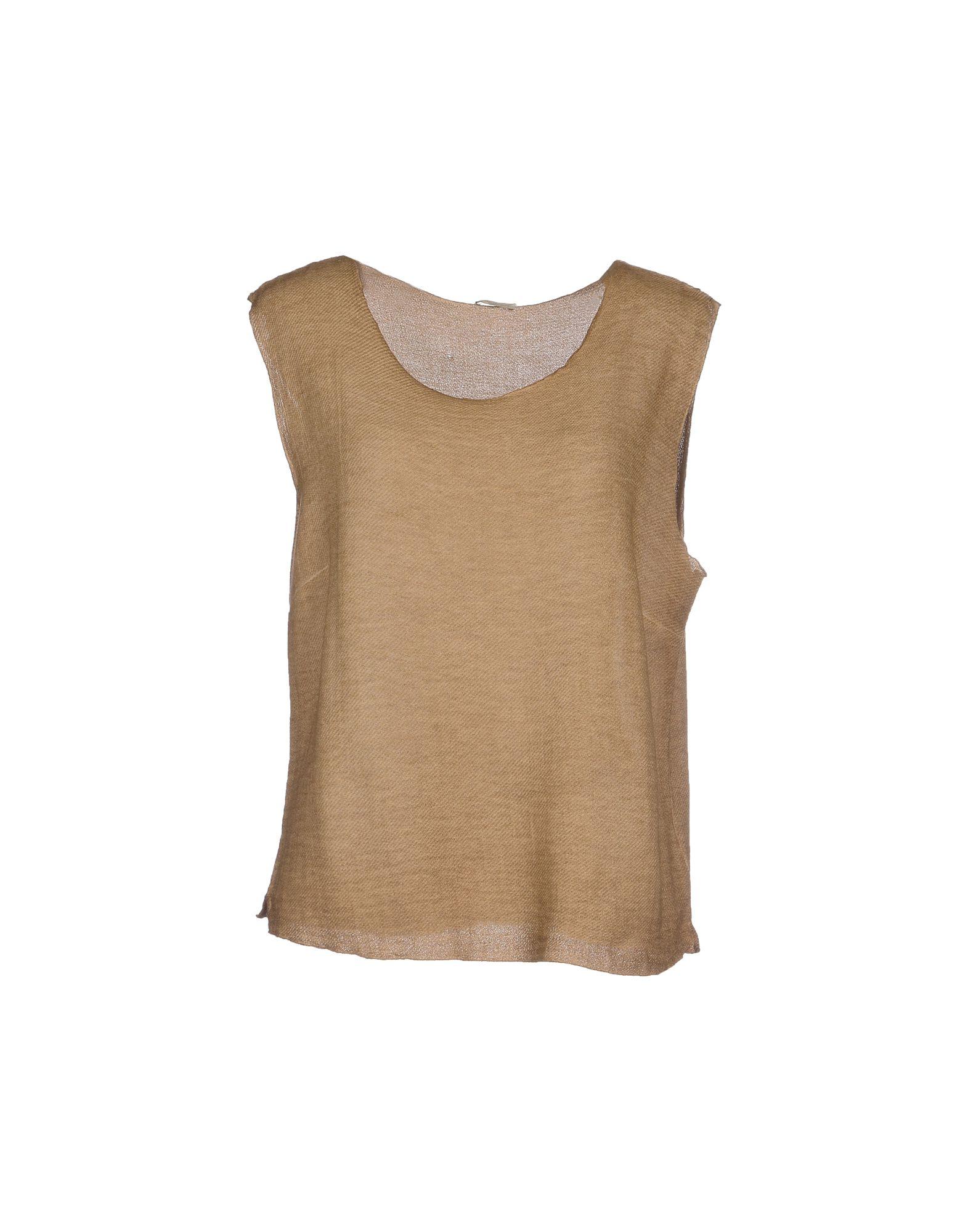 MASSIMO ALBA Топ без рукавов massimo alba платье длиной 3 4