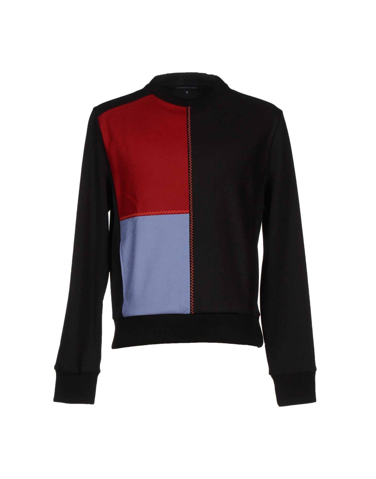 JONATHAN SAUNDERS Sweatshirt in Black