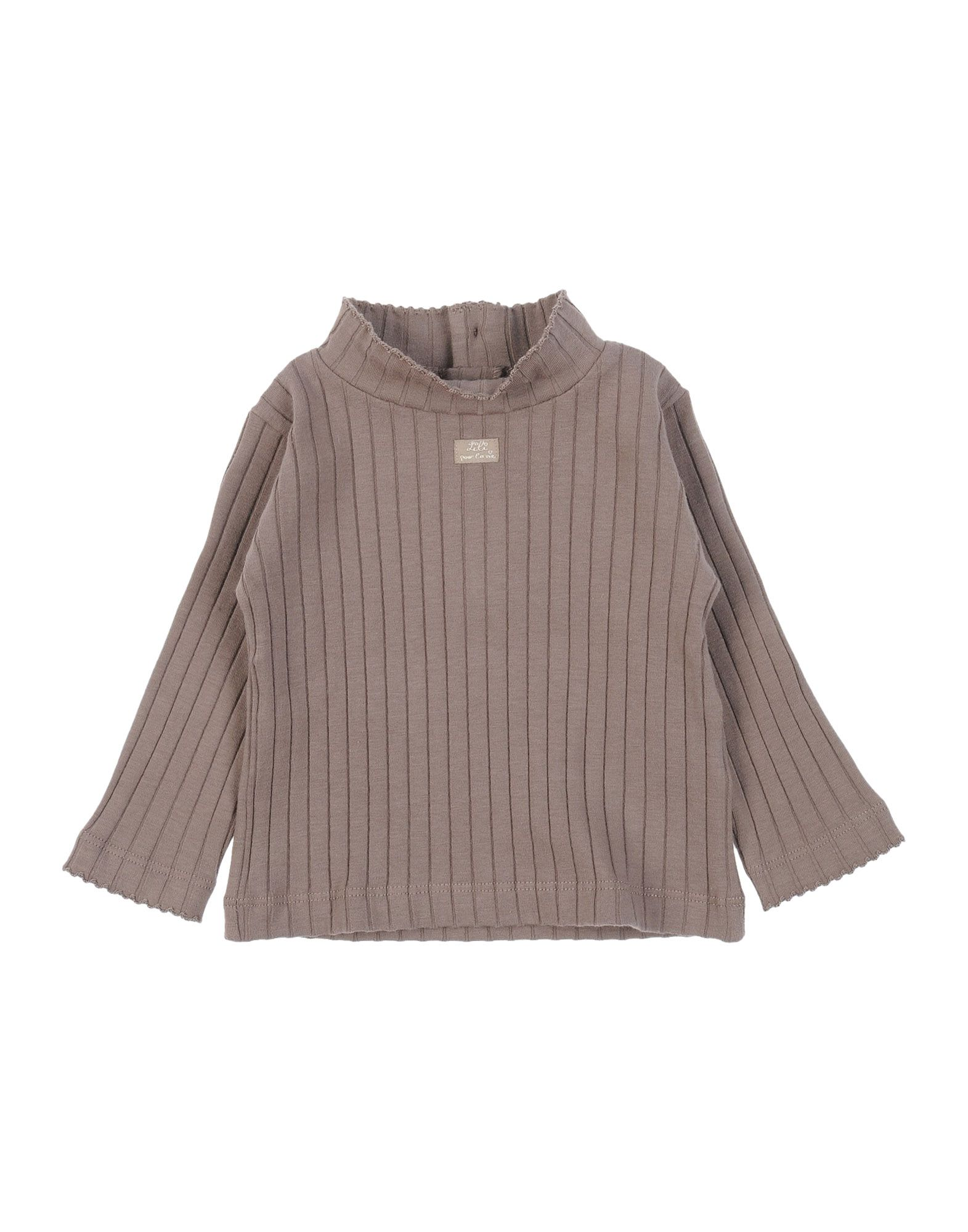 LILI GAUFRETTE Mädchen 0-24 monate T-shirts Farbe Khaki Größe 3