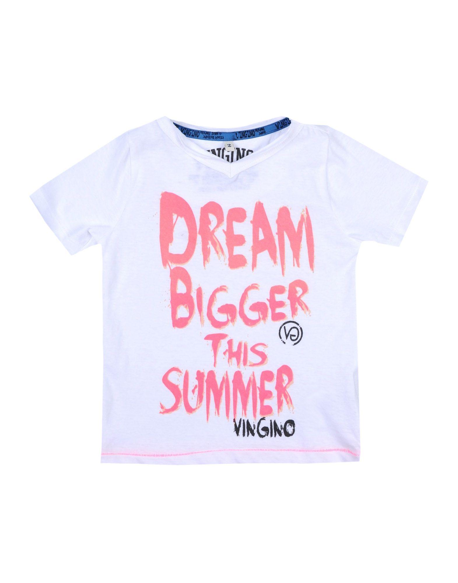 VINGINO Mädchen 0-24 monate T-shirts Farbe Weiß Größe 10