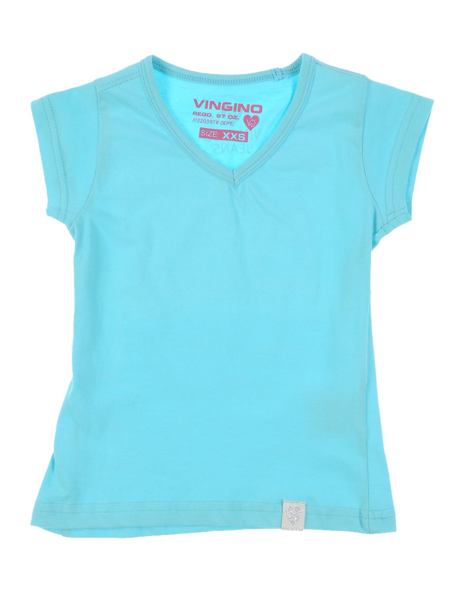 VINGINO Mädchen 0-24 monate T-shirts Farbe Himmelblau Größe 3