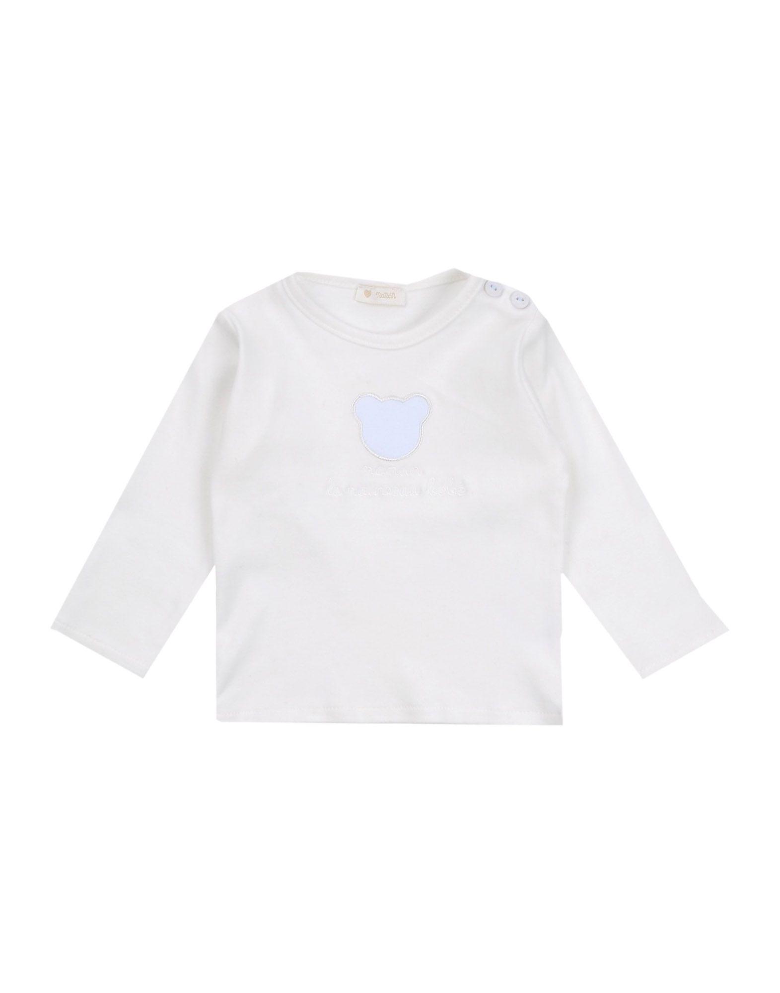 NANÁN Mädchen 0-24 monate T-shirts Farbe Weiß Größe 5