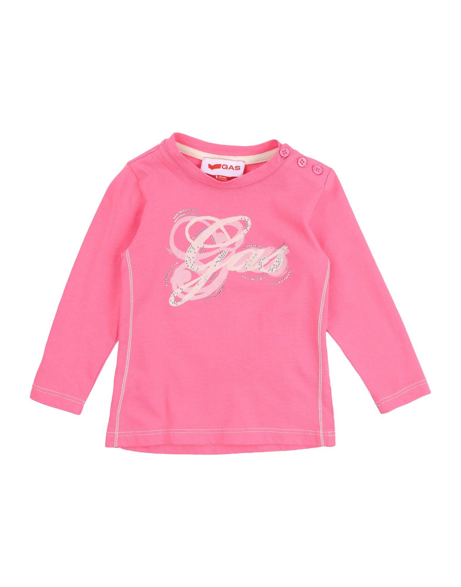 GAS Mädchen 0-24 monate T-shirts Farbe Fuchsia Größe 5