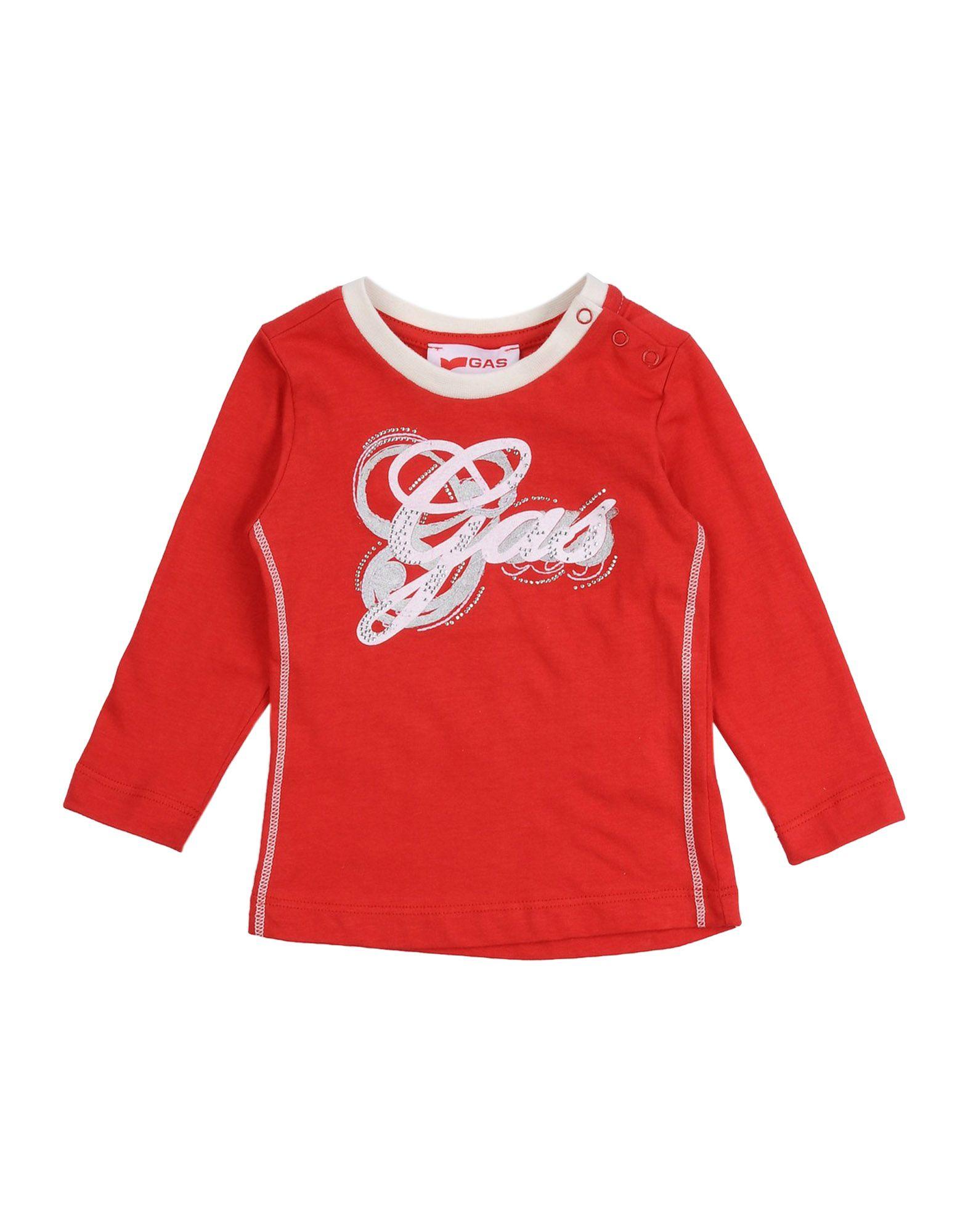 GAS Mädchen 0-24 monate T-shirts Farbe Rot Größe 5