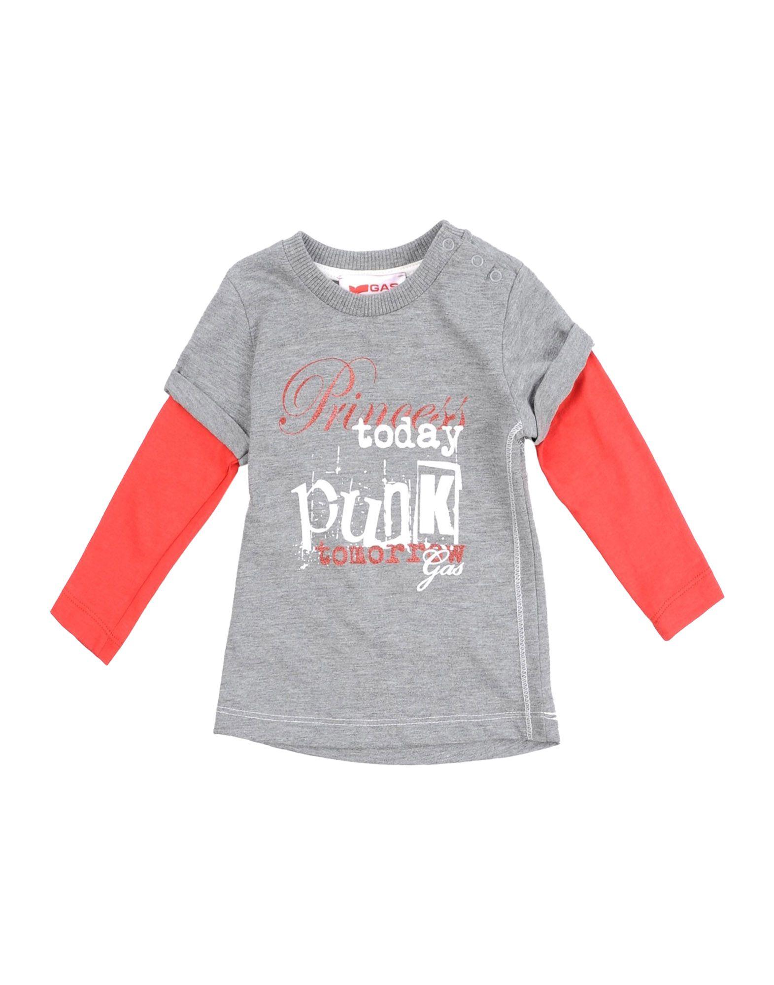 GAS Mädchen 0-24 monate T-shirts Farbe Grau Größe 5
