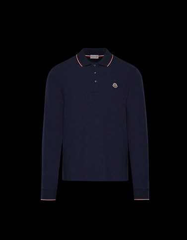 POLO SHIRT Blue Category Polo shirts Man