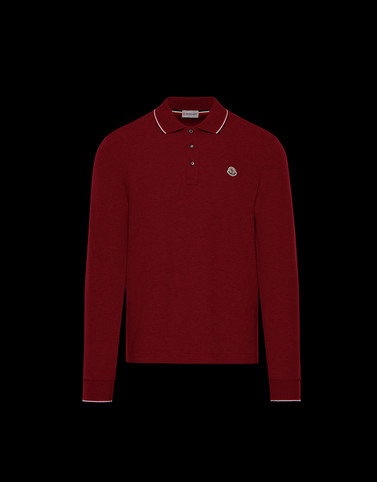 POLO SHIRT Bordeaux Category Polo shirts Man