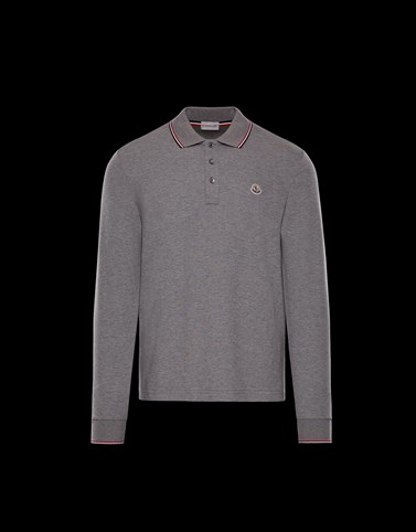 POLO SHIRT Grey Category Polo shirts
