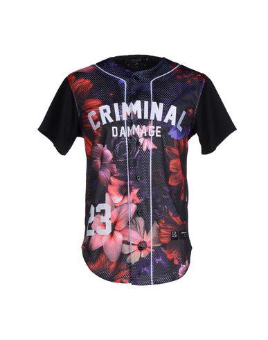 Foto CRIMINAL DAMAGE Camicia uomo Camicie
