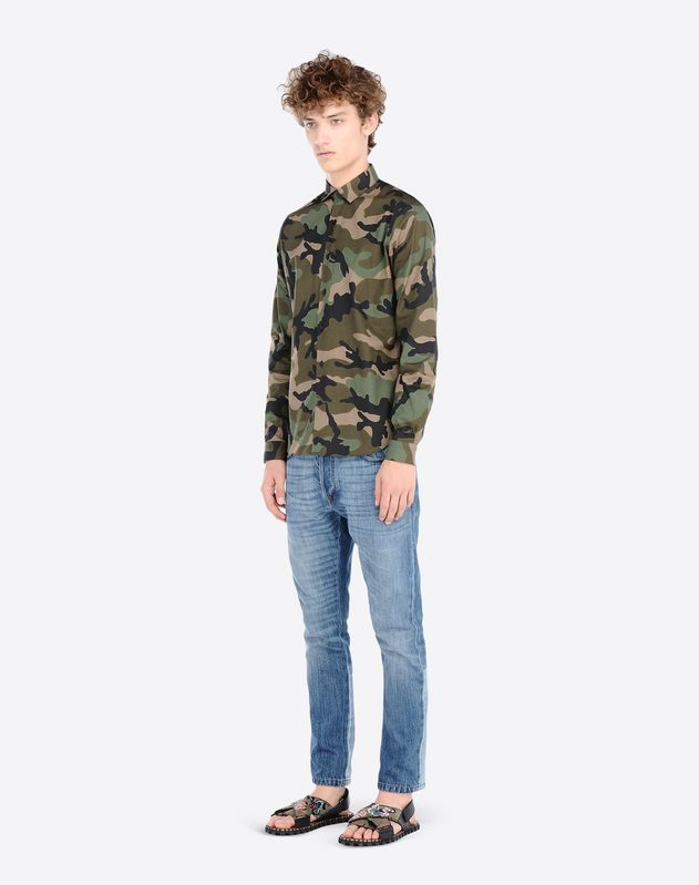 Camouflage army shirt