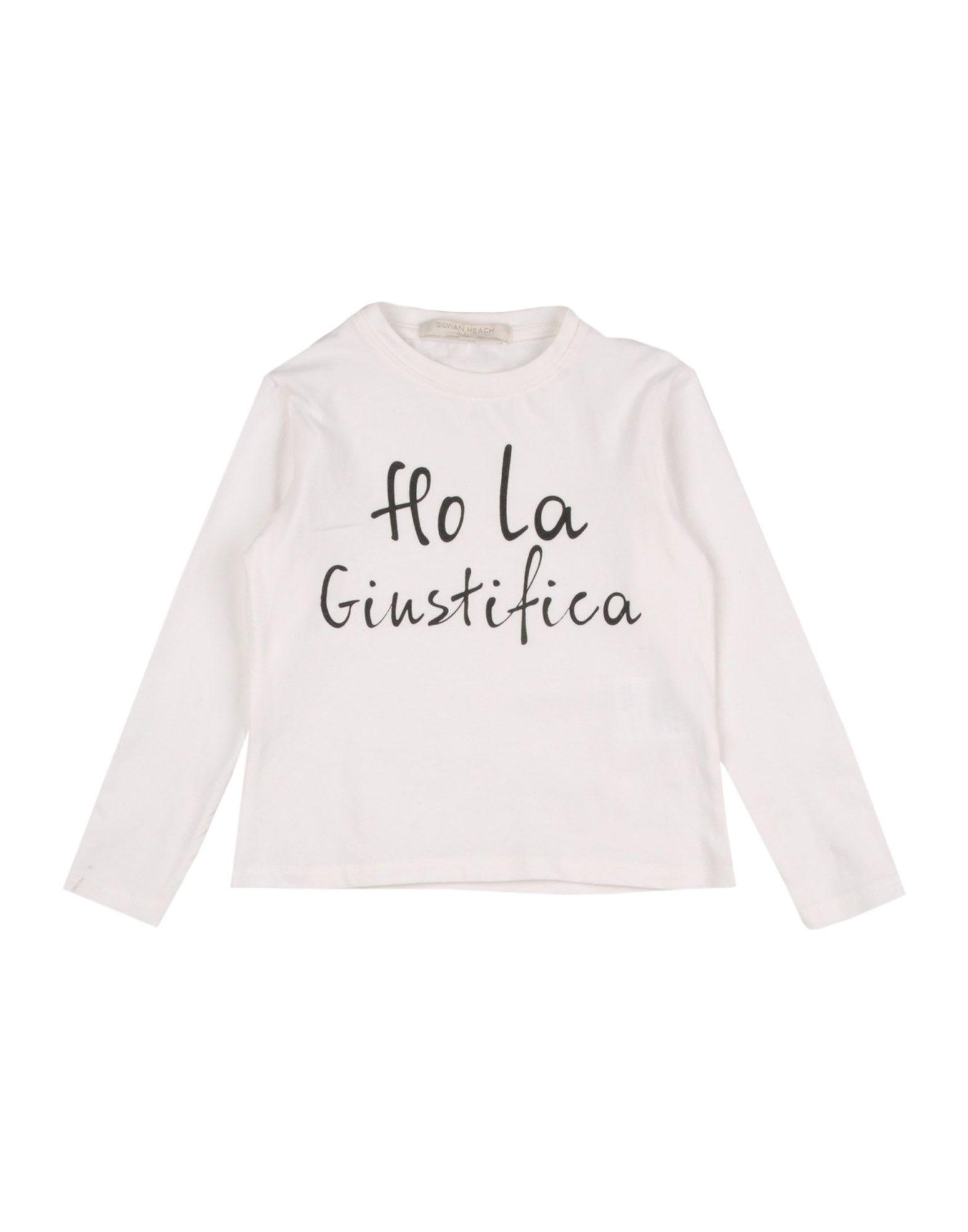 SILVIAN HEACH KIDS Mädchen 0-24 monate T-shirts Farbe Elfenbein Größe 10