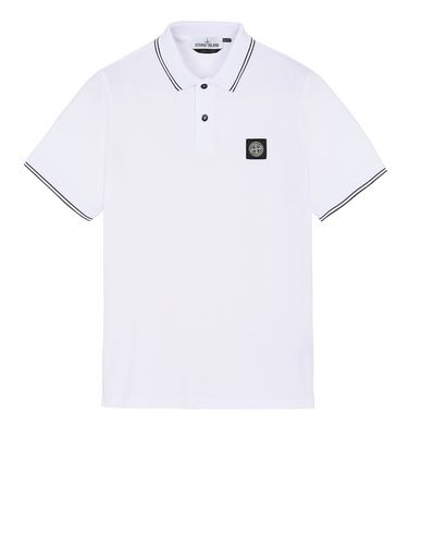 STONE ISLAND 22S18 Polo shirt Man Transparent EUR 118
