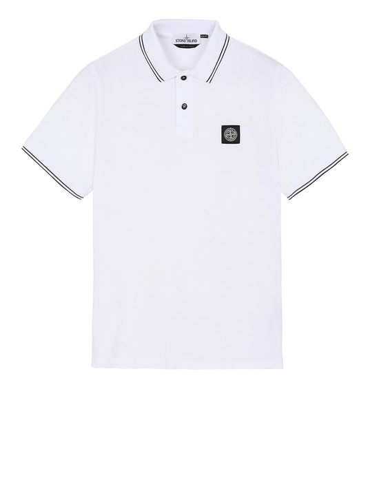 STONE ISLAND 22S18 Polo shirt Man Transparent