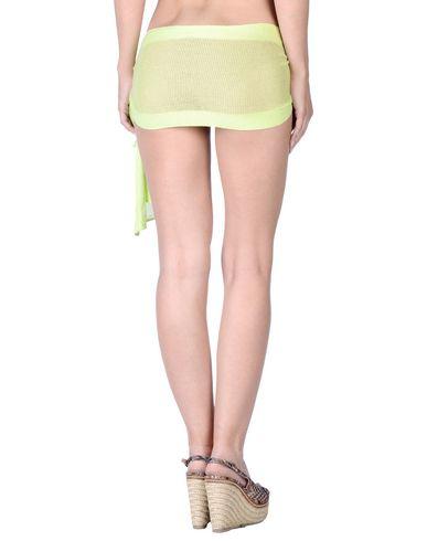 Фото 2 - Парео от TWINSET кислотно-зеленого цвета