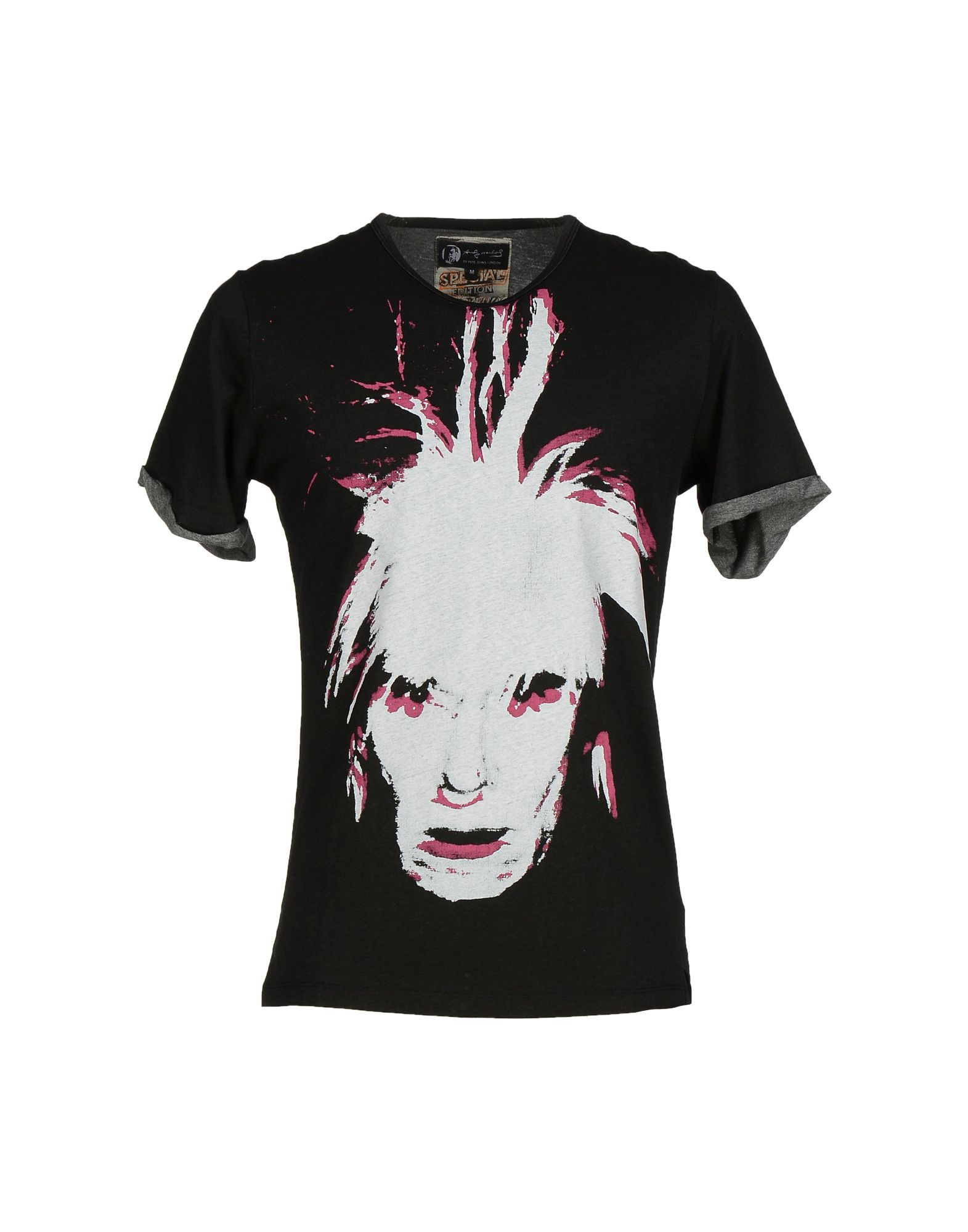 ANDY WARHOL by PEPE JEANS Футболка палитра для макияжа nars andy warhol debbie harry 12
