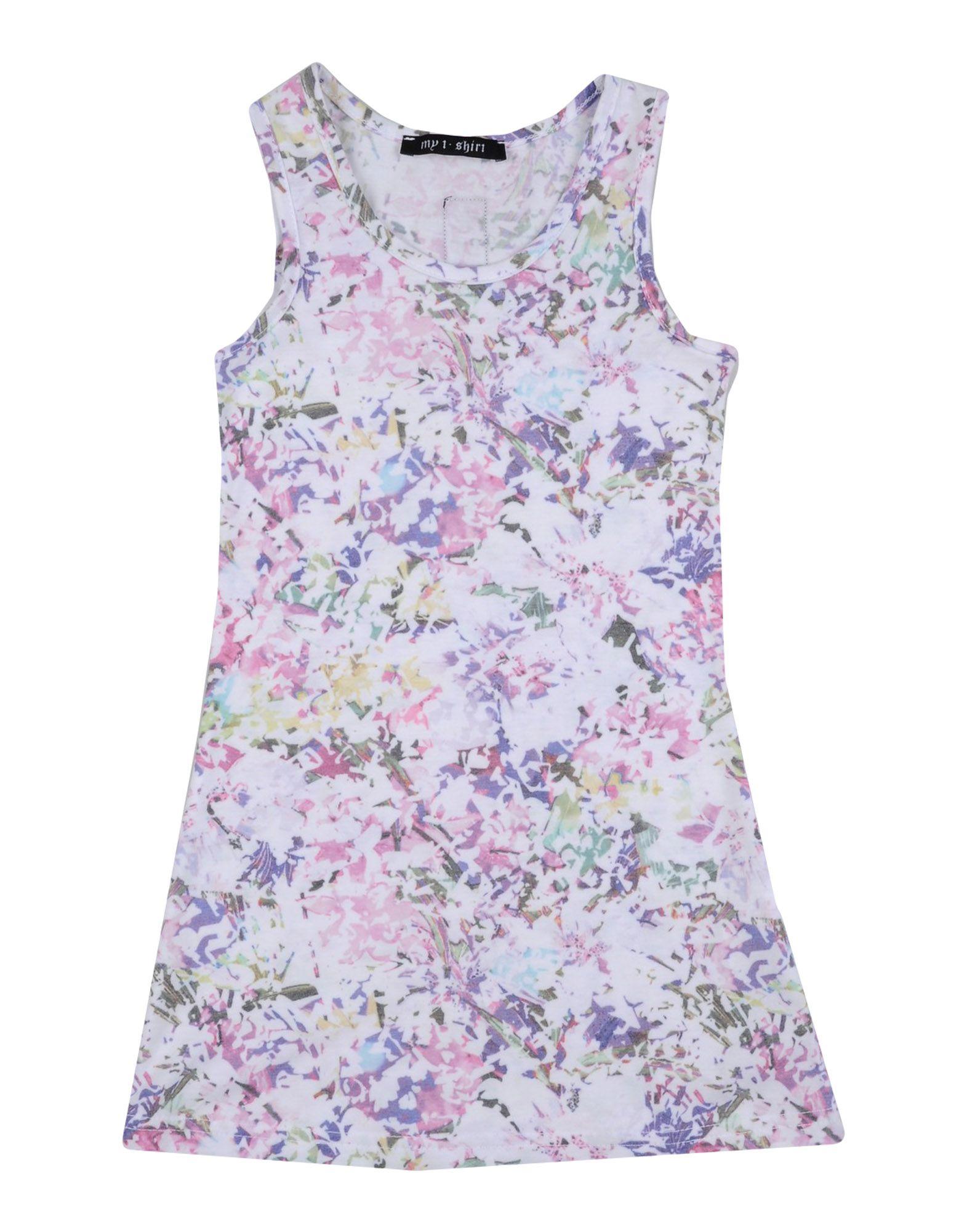 MY T-SHIRT Mädchen 0-24 monate Kleid Farbe Flieder Größe 10