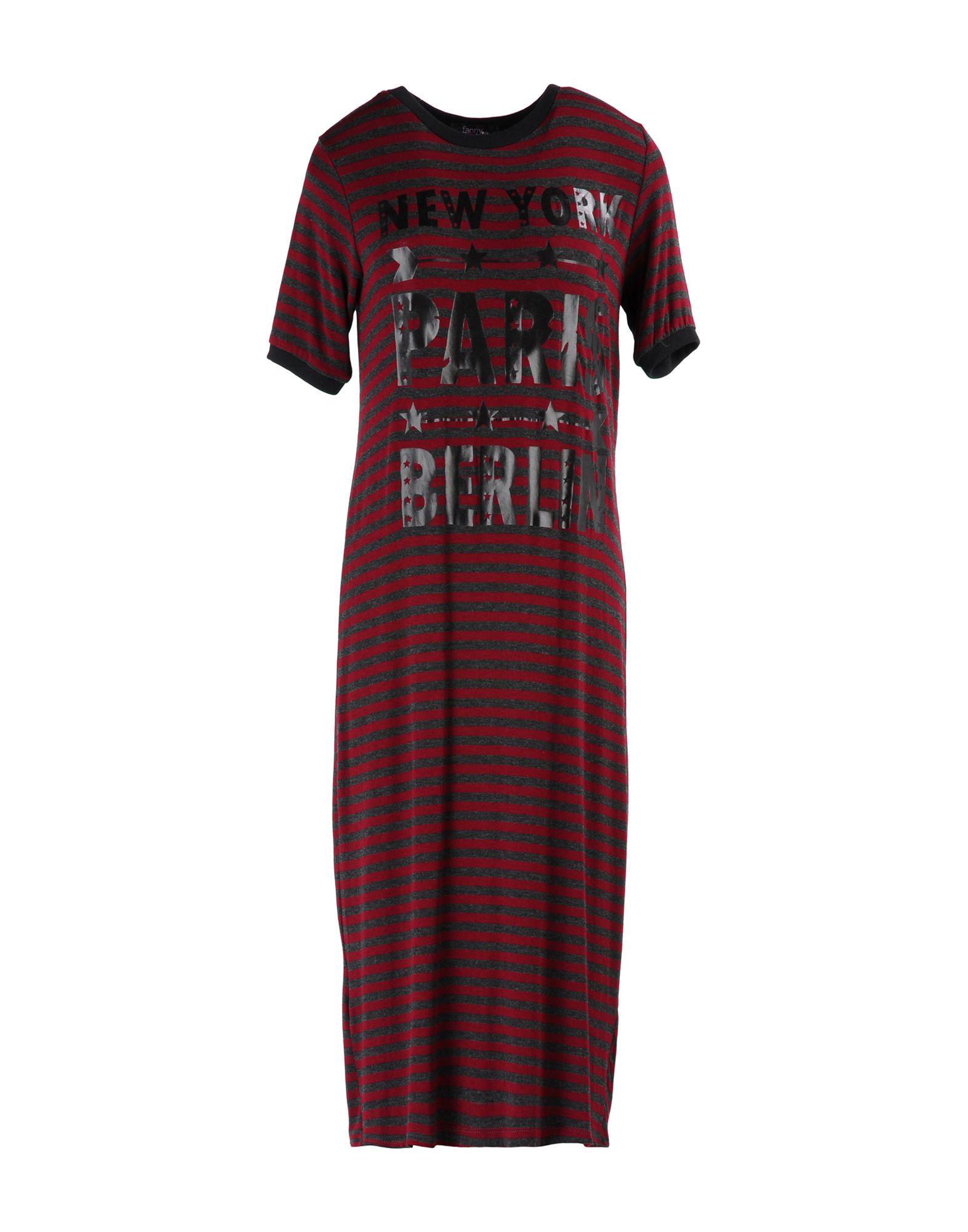FANNY COUTURE Платье до колена футболка catimini футболка