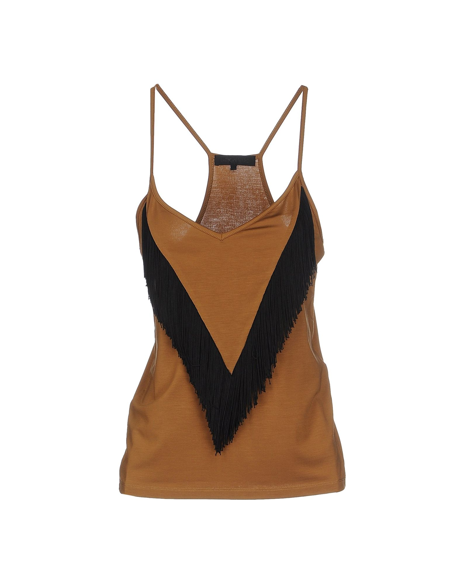 AMERICAN RETRO Top in Brown