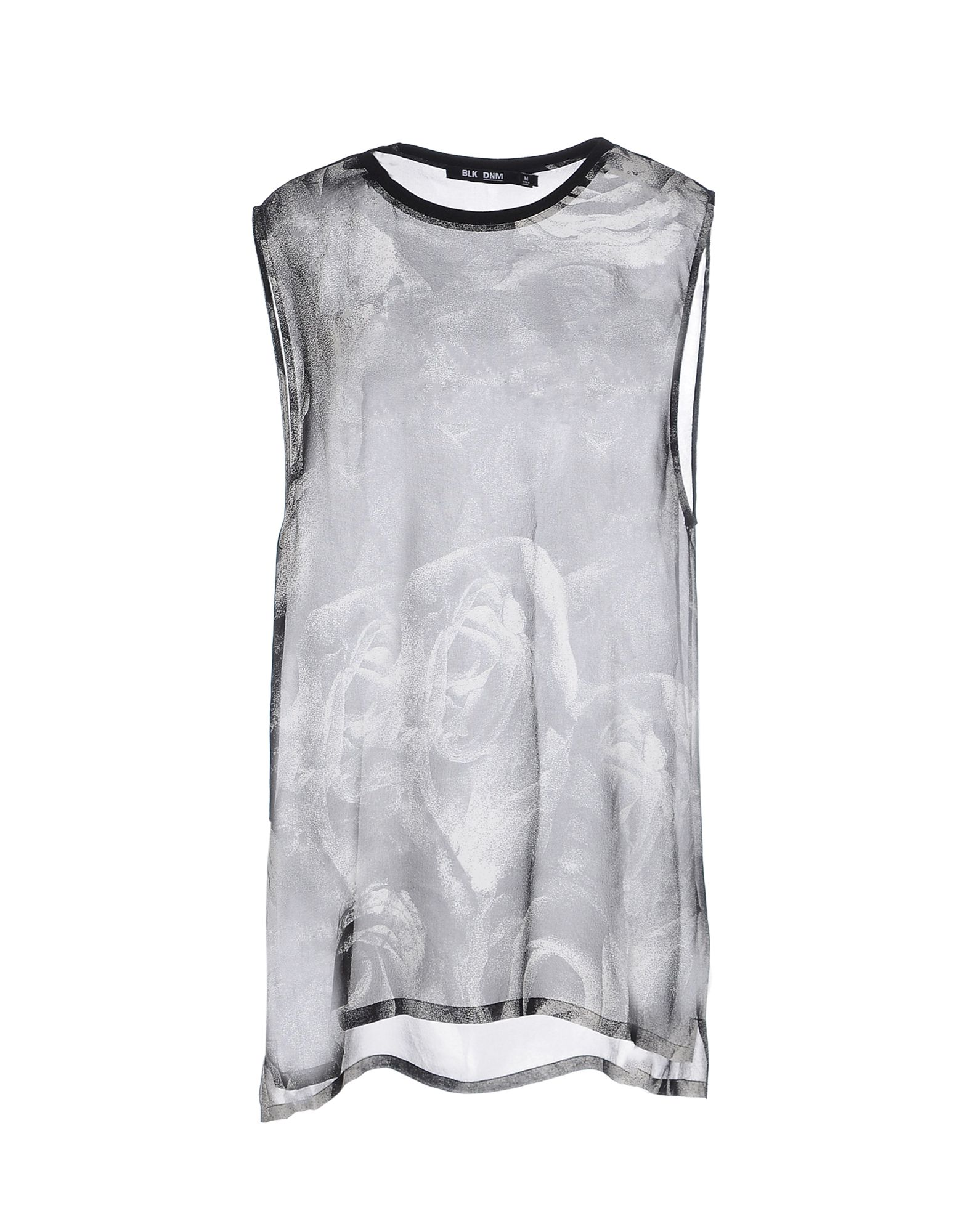 BLK DNM Топ без рукавов пуловер vmsally ls blouse dnm