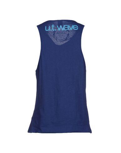 Фото 2 - Мужскую майку U.T. WAVE синего цвета