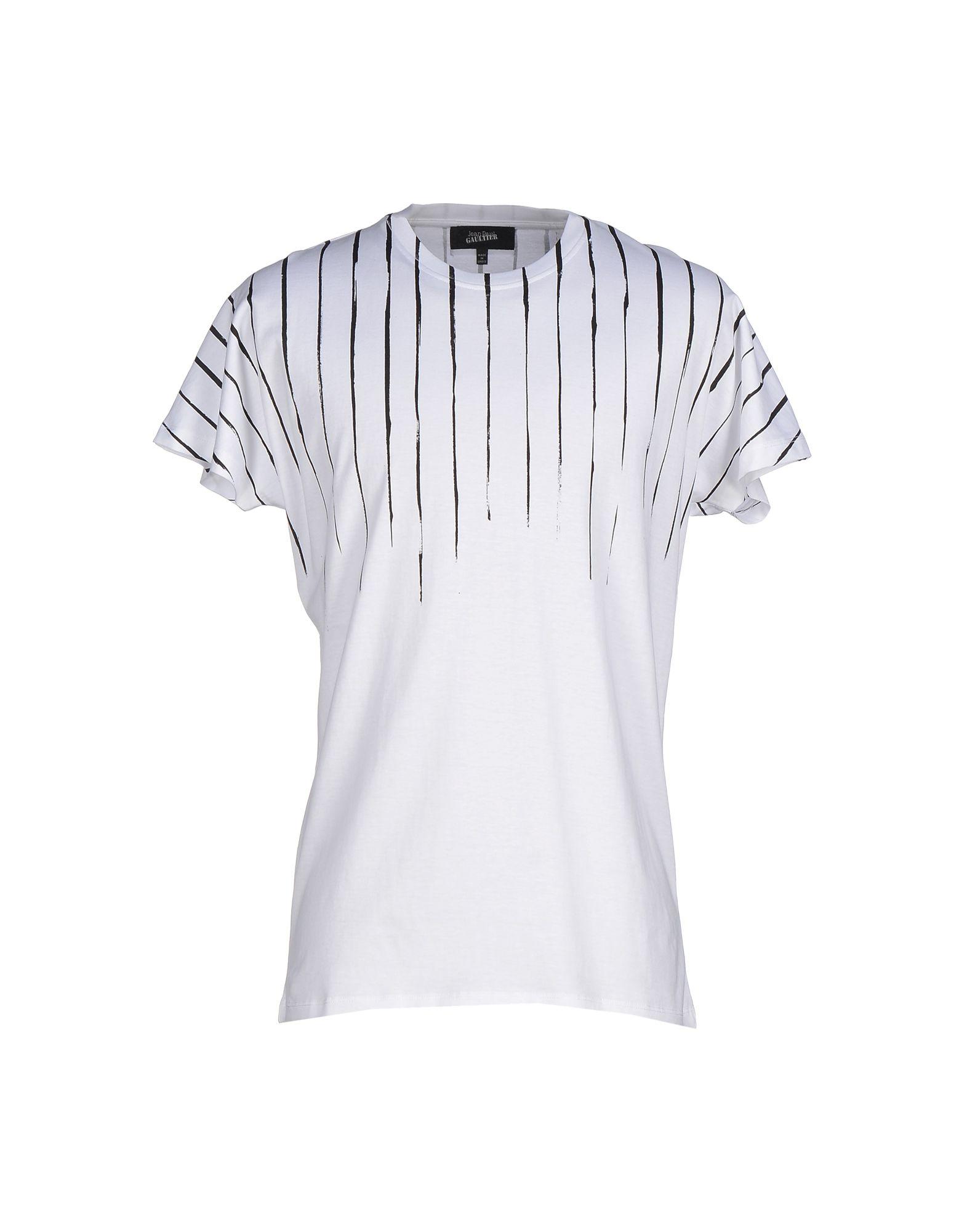 《送料無料》JEAN PAUL GAULTIER メンズ T シャツ ホワイト XS コットン 100%