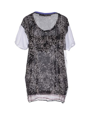 Фото 2 - Женскую футболку TRE CINQUE SETTE белого цвета