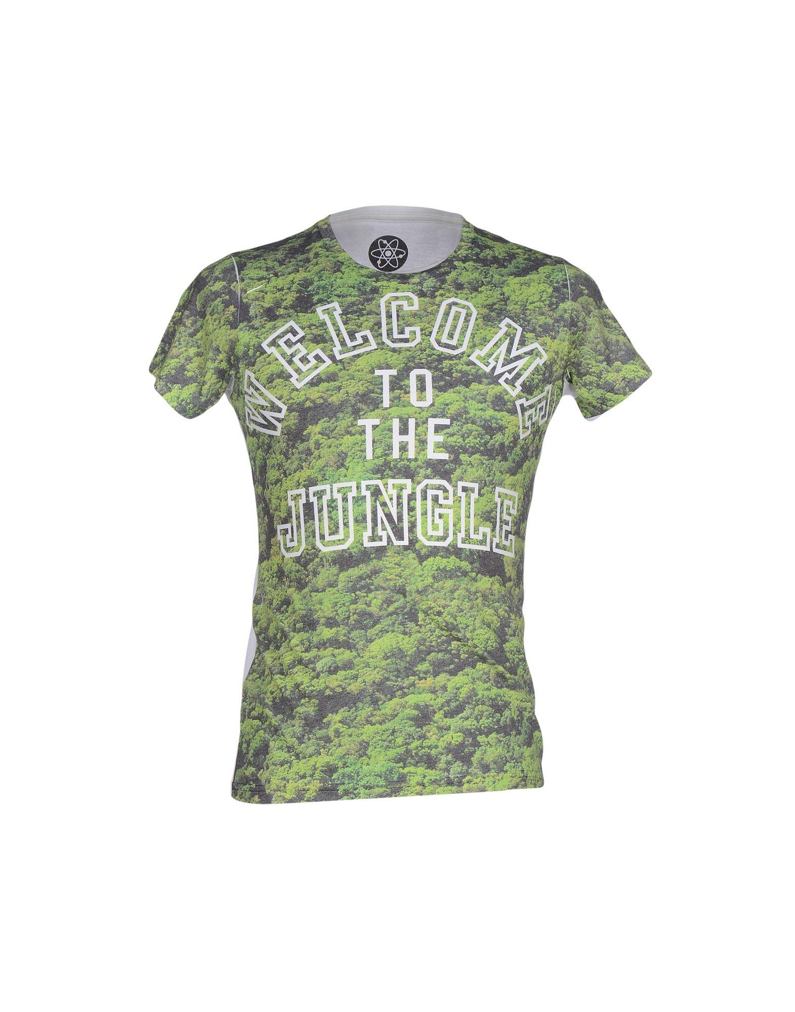 ATOMO Herren T-shirts Farbe Grün Größe 6