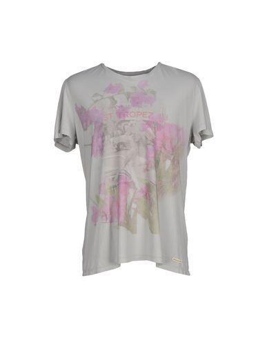 Купить Женскую футболку SIVIGLIA DENIM светло-серого цвета