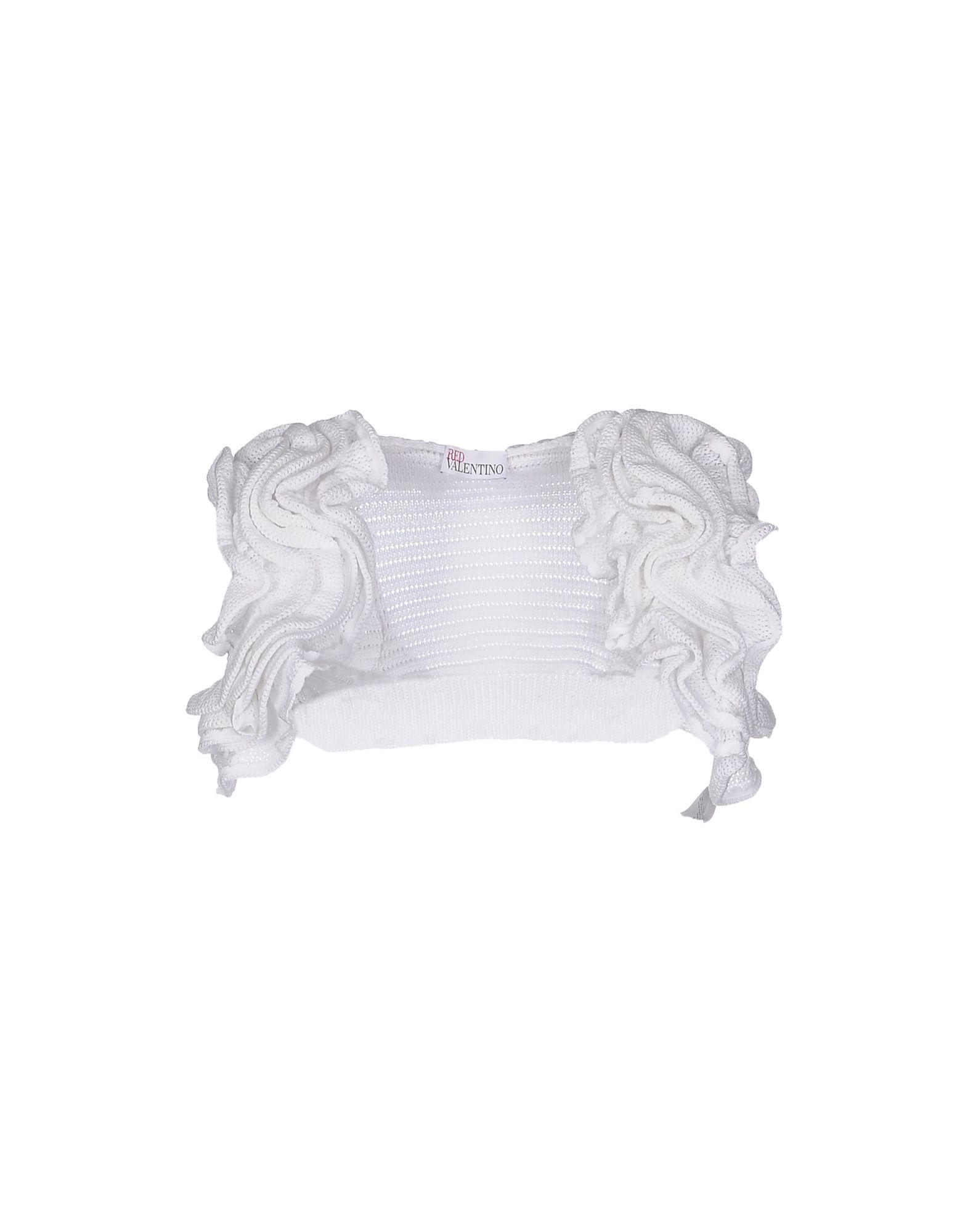 REDValentino Damen Bolero Farbe Weiß Größe 5