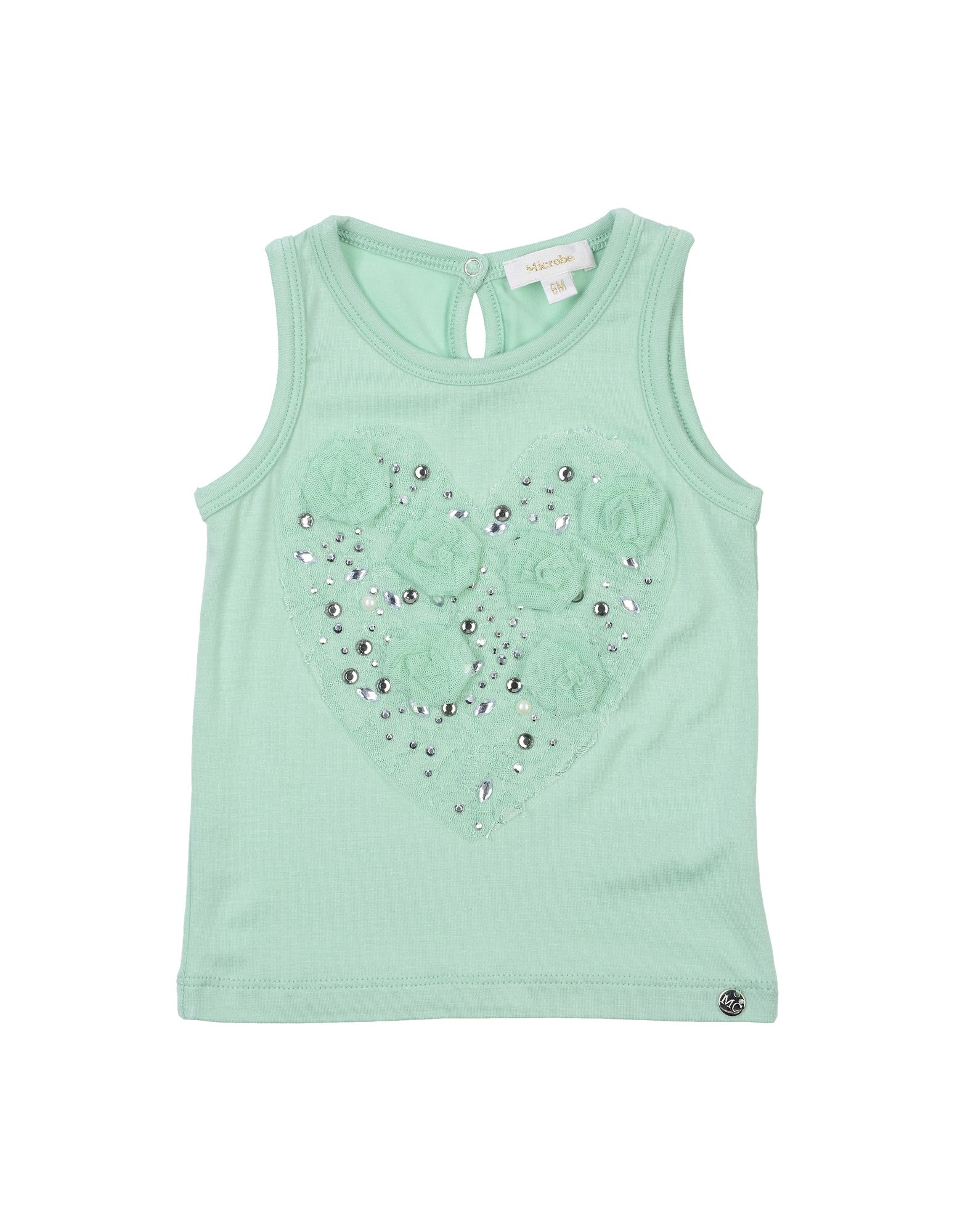 Microbe By Miss Grant Kids' T-shirts In Green