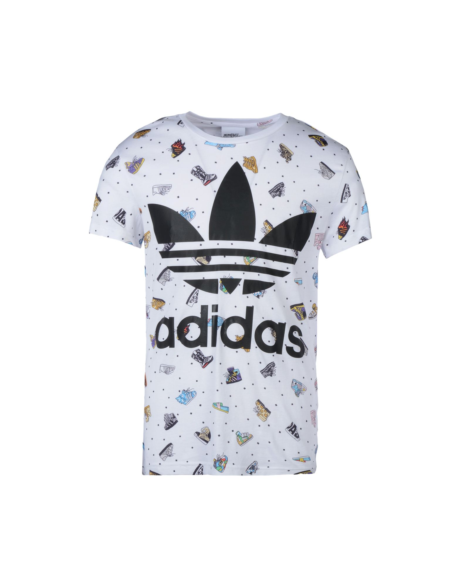 ADIDAS ORIGINALS by JEREMY SCOTT Футболка adidas originals by jeremy scott низкие кеды и кроссовки
