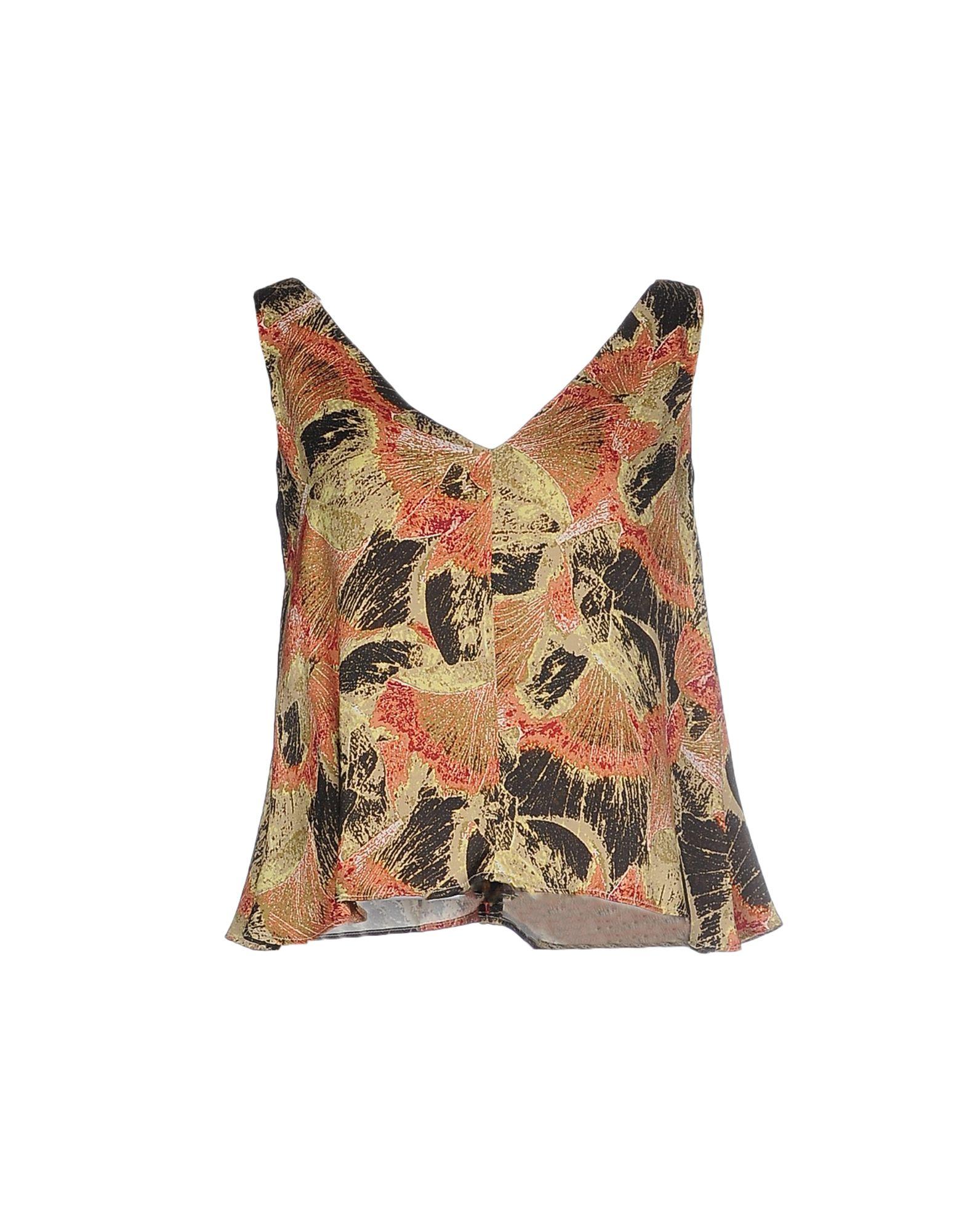 ATTIC AND BARN Топ без рукавов valentino блузка от valentino 99623