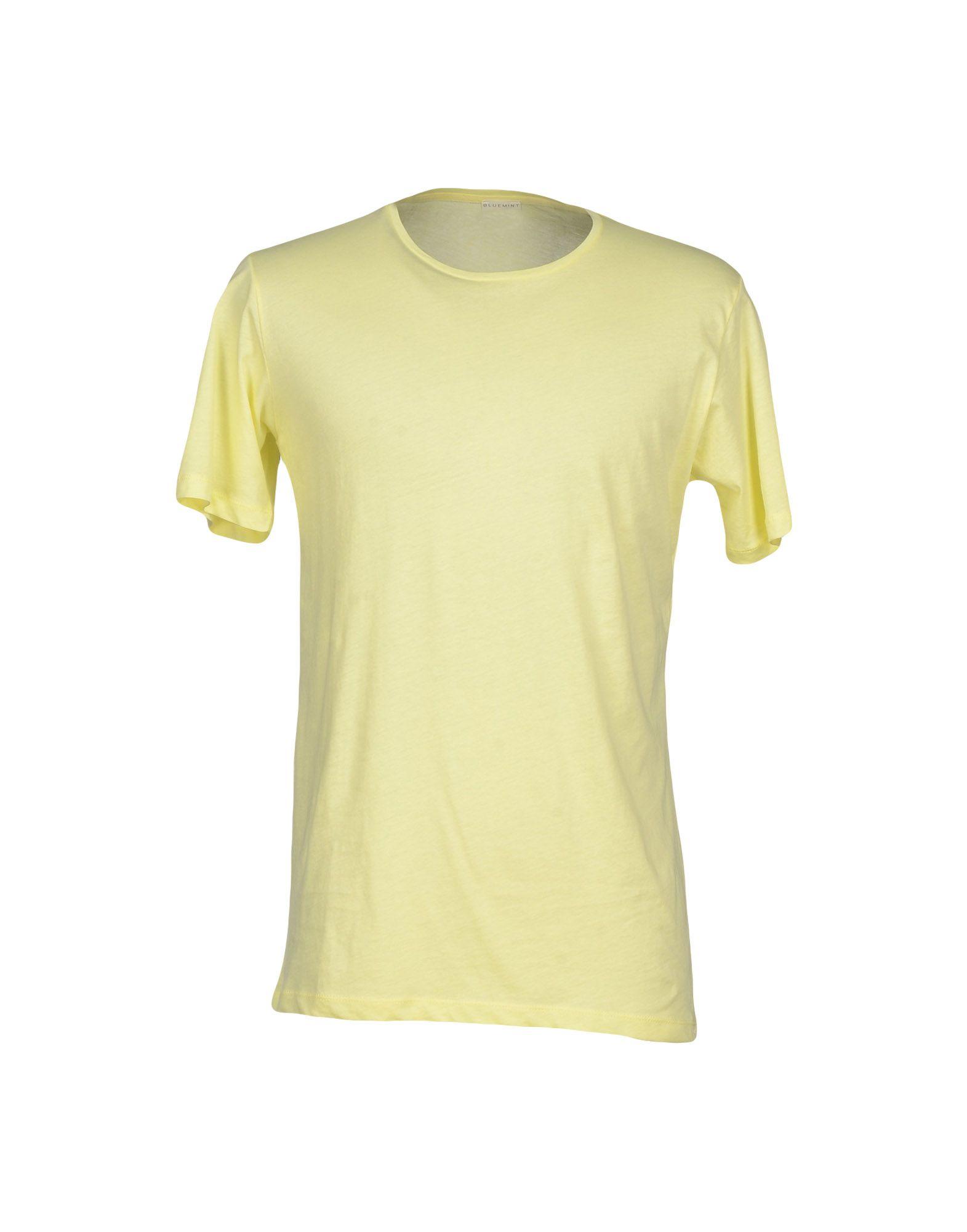 BLUEMINT T-Shirt in Light Yellow