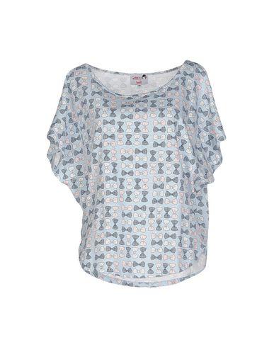 Фото - Женскую футболку DOLORES PROMESAS HELL лазурного цвета