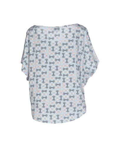 Фото 2 - Женскую футболку DOLORES PROMESAS HELL лазурного цвета