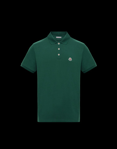 POLO Deep jade Category Polo shirts Man