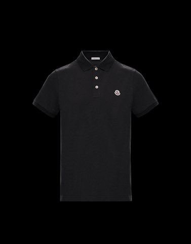 POLO Black Shirts Man