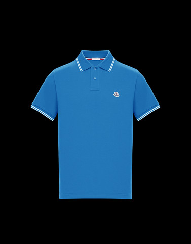 POLO Pastel blue Category Polo shirts Man