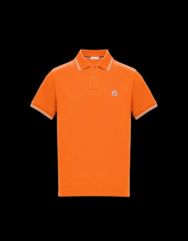 POLO Orange Category Polo shirts Man