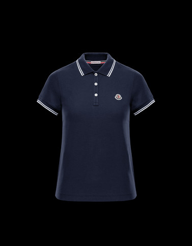 POLO Blue T-Shirts & Tops Woman