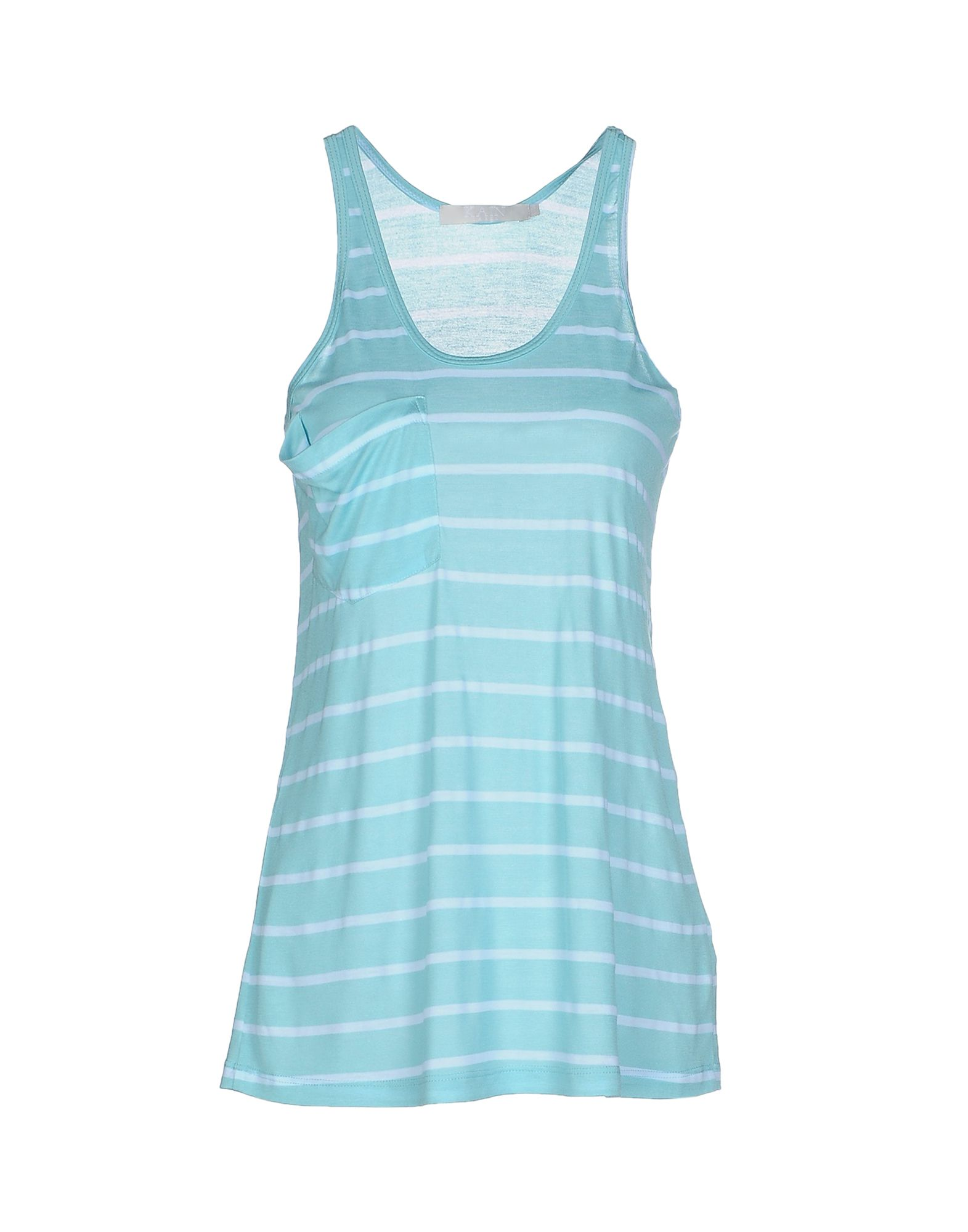 KAIN Tank Top in Turquoise