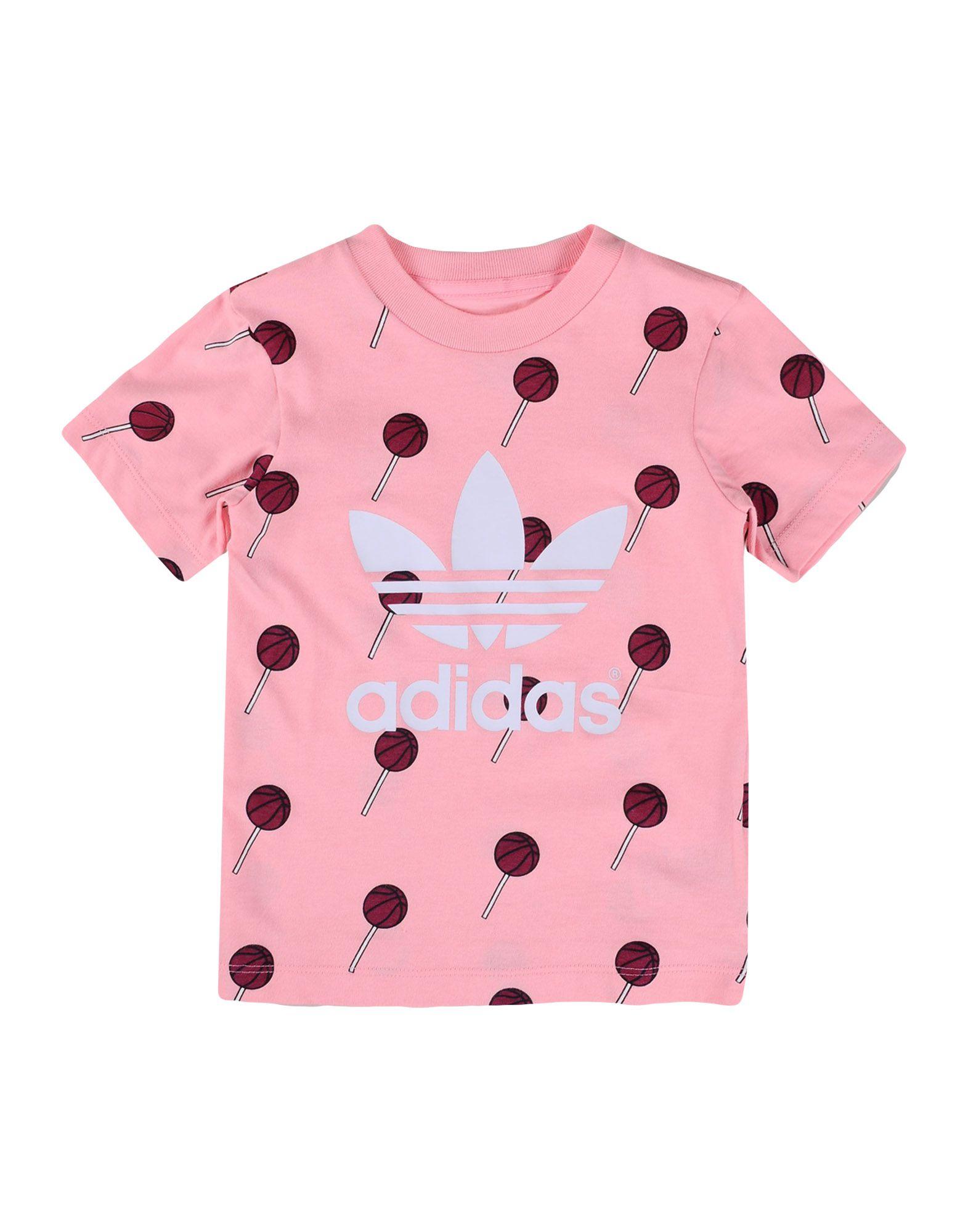 ADIDAS ORIGINALS Mädchen 0-24 monate T-shirts Farbe Rosa Größe 5