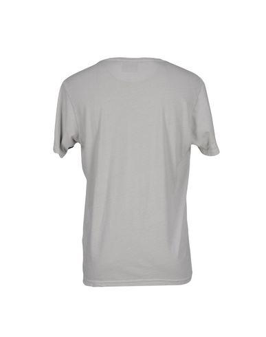 Фото 2 - Женскую футболку RXMANCE светло-серого цвета