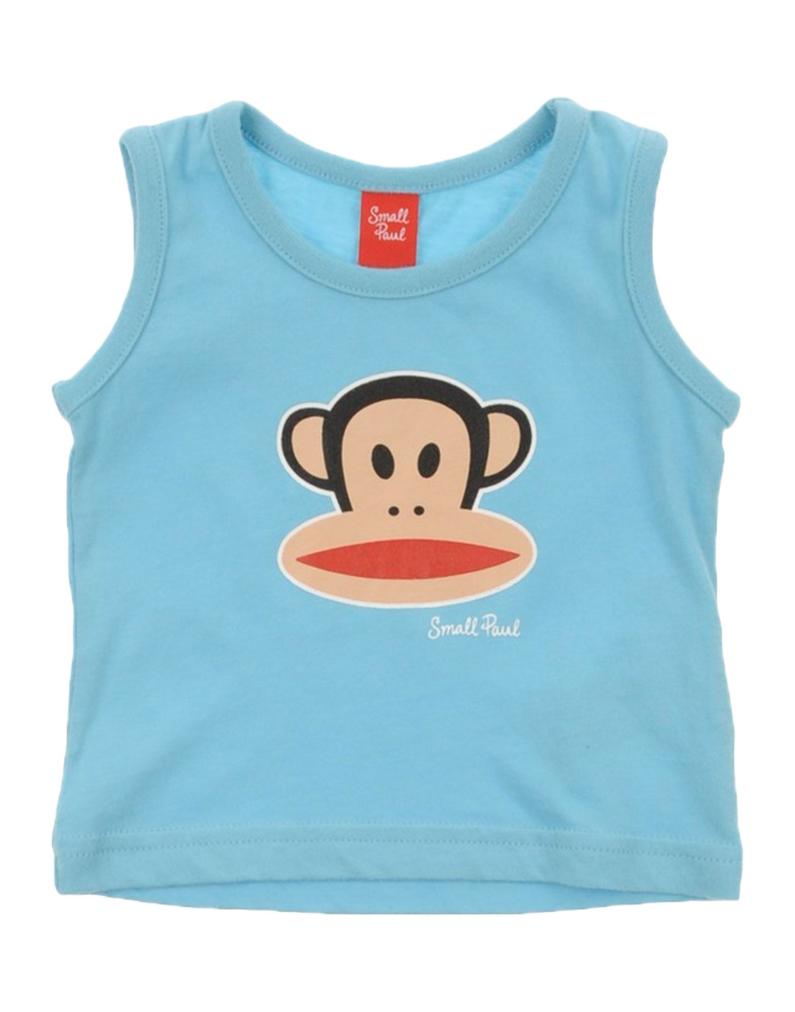 Small Paul By Paul Frank Kids' T-shirts In Blue